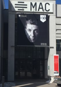I found some moments of provocation and pleasure at The Musée d'art contemporain (MAC). In the exhibit A Crack in Everything many artists pay tribute to our man Leonard Cohen. | Chandler Coaches Inc
