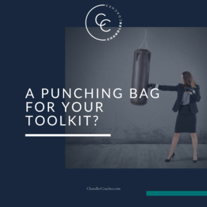 A punching bag for your toolkit via Lisa Chandler at ChandlerCoaches.com