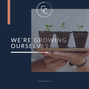 We're Growing Ourselves | ChandlerCoaches.com